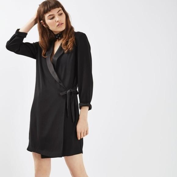 a68b92cb2535 Topshop Dresses   Tuxedo Blazer Dress   Poshmark